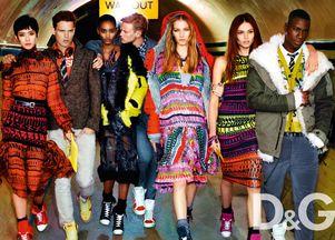 Eksplozja kolorów w kampanii Dolce & Gabbana (FOTO)
