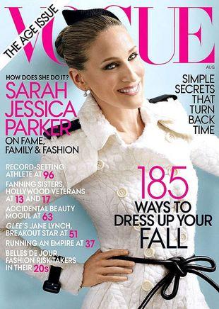 Sarah Jessica Parker w Vogue