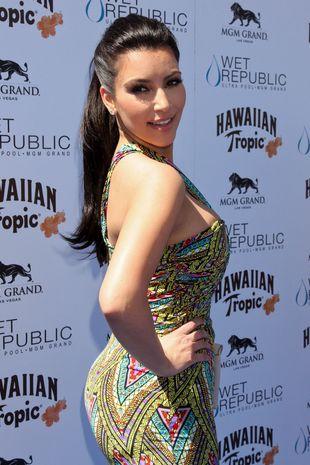 Kim Kardashian w sukience Mara Hoffman (FOTO)