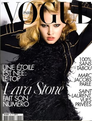 Lara Stone w nowej kampanii Louis Vuitton