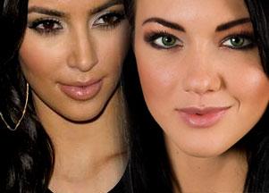 Ulubiony makijaż Kim Kardshian