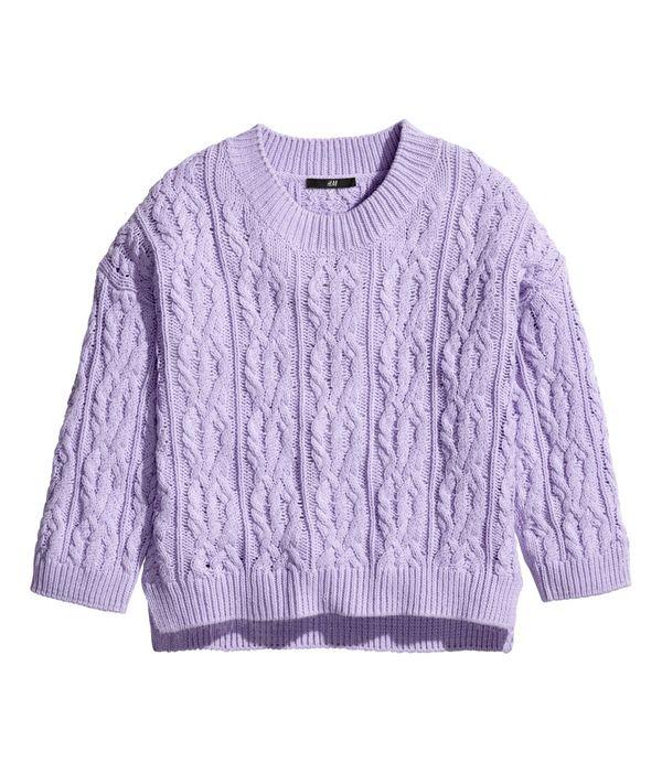 Swetry, sweterki, kardigany... - przegląd oferty H&M (FOTO)