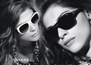 Elisa Sednaoui kolejny raz dla Chanel Eyewear (FOTO)