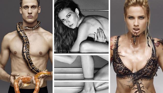 Sesja Top Model – wybór między nagością a robakami