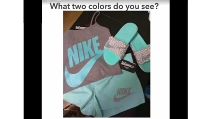 Jaki to ma kolor??? Była sukienka, teraz czas na komplet od Nike!