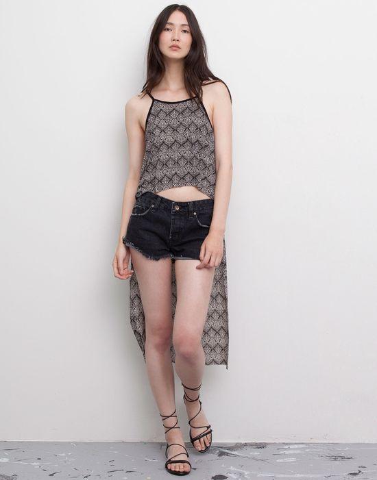 Pull&Bear Black&White - Młodzieżowe czerń i biel na lato
