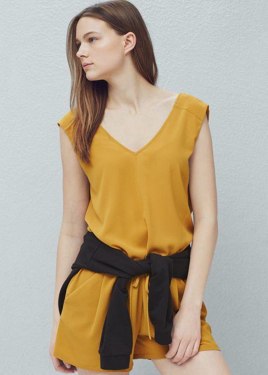 Wyprzedaż w Mango - 10 modnych krótkich kombinezonów (FOTO)