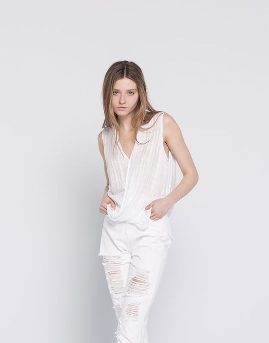 Pull & Bear All White - Kolekcja cała w bieli na lato 2016