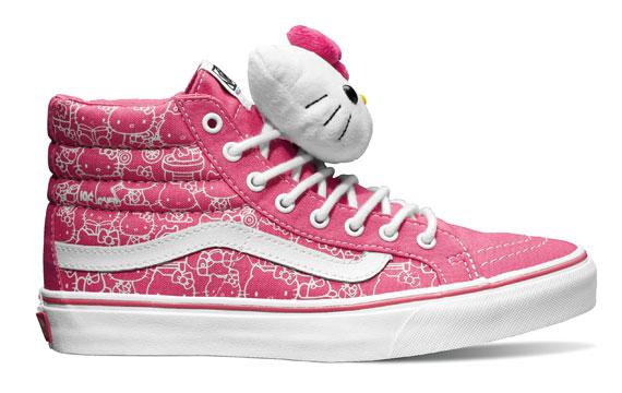 Wspólna kolekcja Vans i Hello Kitty
