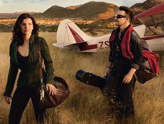 Bono z żoną w reklamie domu mody Louis Vuitton