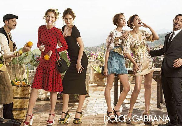 Dolce & Gabbana - pełna kampania na wiosnę-lato 2014!