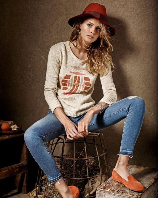 Edita Vilkeviciute dla Lucky Brand (FOTO)