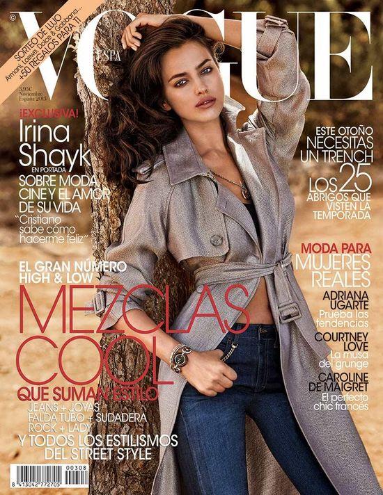 Kate Moss, Irina Shayk i Karlie Kloss na okładkach Vogue