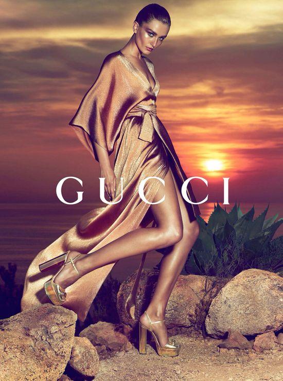 Gucci - gorąca kampania Resort 2014 (FOTO)