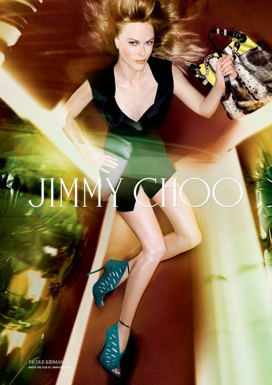 Piękne nogi Nicole Kidman w nowej kampanii Jimmy Choo