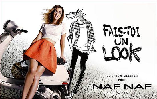 Leighton Meester twarzą Naf Naf! (FOTO)