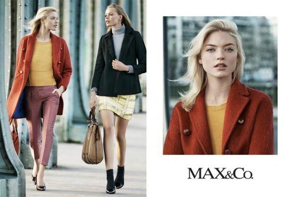 Frida Gustavsson i Martha Hunt dla Max&Co (FOTO)