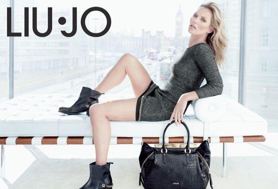 Kate Moss w jesiennej kampanii Liu Jo