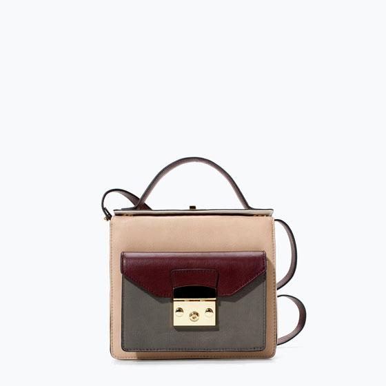 Zara - torebki damskie na jesień 2014