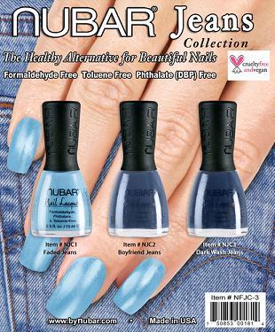 Trend: dżinsowe odcienie na paznokciach