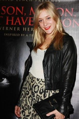Chloe Sevigny - tradycyjnie w Chloe