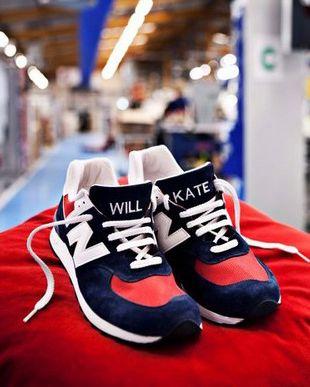 Buty na cześć Williama i Kate (FOTO)