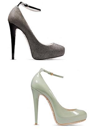 John Galliano - buty z kolekcji jesień/zima 2011