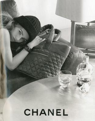 Vanessa Paradis reklamuje torebki Chanel Cocoon