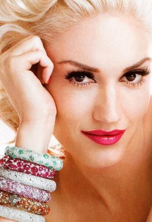 Gwen Stefani o blondzie i codziennym makijażu