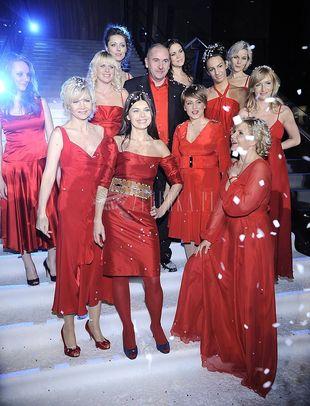 Polskie gwiazdy w mikołajowych kolorach