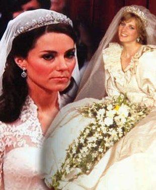 Kate vs Diana (FOTO)