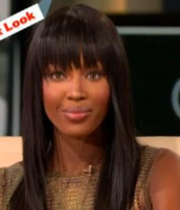Naomi Campbell w programie Oprah Winfrey