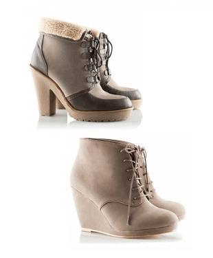 H&M - buty z kolekcji jesienno-zimowej