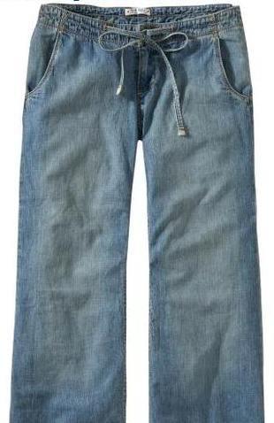 Kto lubi szerokie dżinsy?
