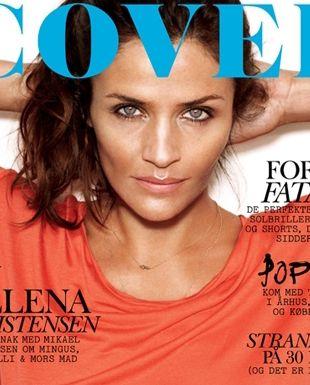 Helena Christensen na okładce Cover (FOTO)