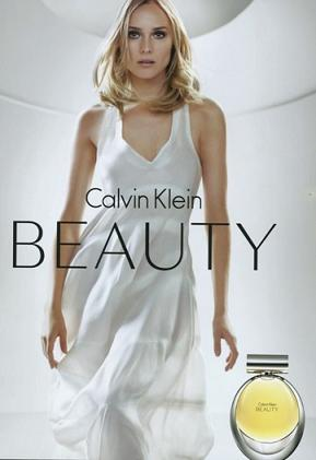 Diane Kruger reklamuje perfumy od Calvina Kleina