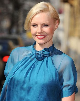 Joanna Kupińska w turkusach