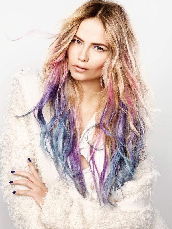 Najgorętszy fryzjerski trendy na wiosnę/lato 2017? Kolorowe włosy!