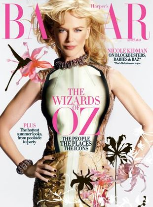 Nicole Kidman na okładce HB