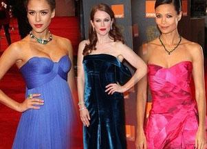 Gwiazdy na gali BAFTA (FOTO)