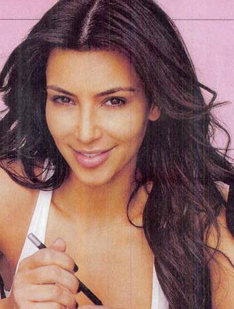 Więcej Kim Kardashian bez makijażu