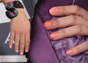 Manicure gwiazd na Grammy 2011