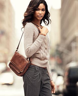 Chanel Iman w październikowym katalogu H&M