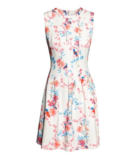 Sukienki w kwiaty - wiosna/lato 2014