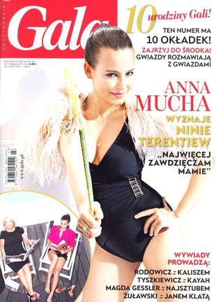Ania Mucha bez brzuszka