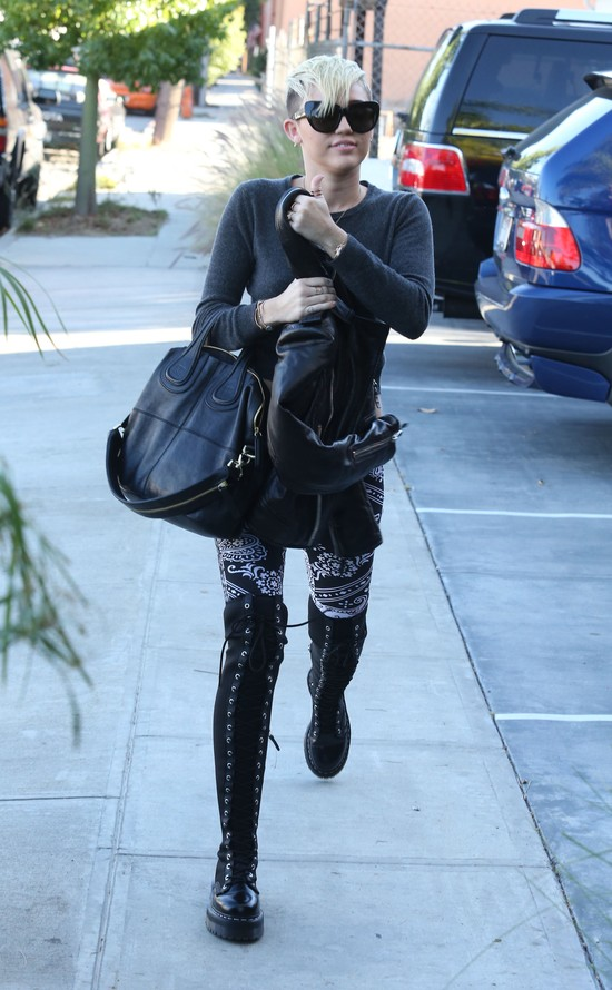 Codzienny styl Miley Cyrus