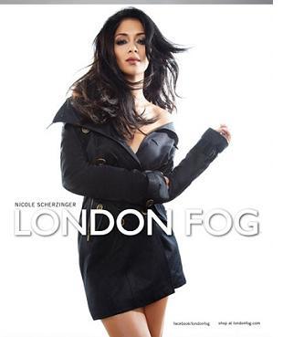 Nicole Scherzinger została twarzą London Fog
