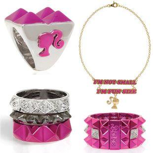 noir jewelry x barbie