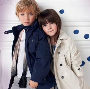 Kampania promocyjna Burberry Children
