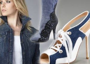 Wiosenne trendy - denim